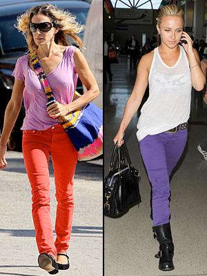 Jeans de colores encuesta
