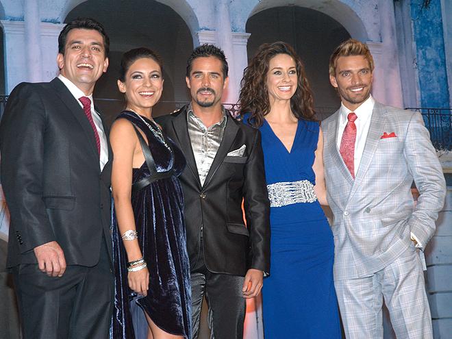 Jorge Salinas, Ana Branda Contreras, Susana González, Julián Gil, Premios People en Español 2012