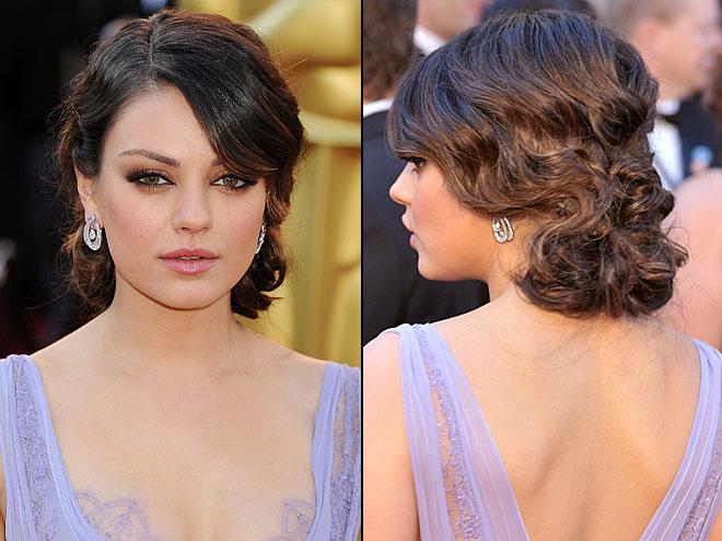 MILA KUNIS, Mejores peinados 2011
