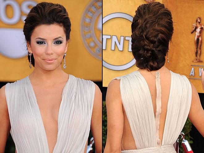 EVA LONGORIA, Mejores peinados 2011