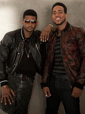 Usher y Romeo