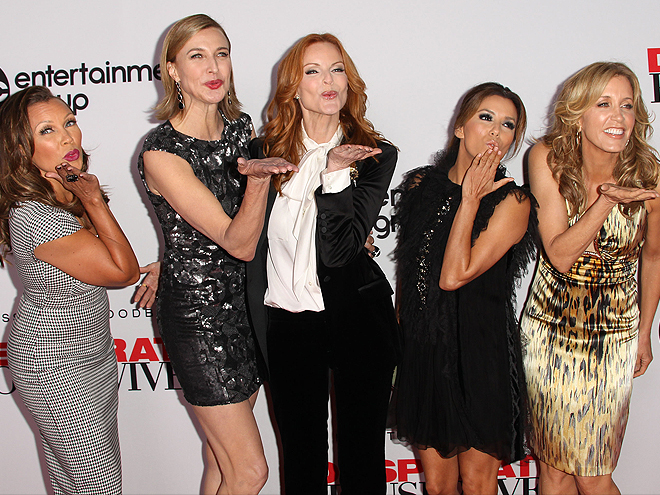 Vanessa L. Williams, Brenda Strong, Marcia Cross, Eva Longoria, Felicity Huffman