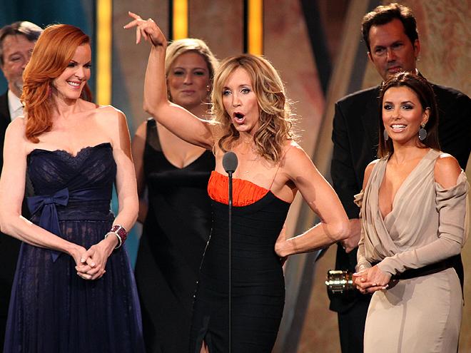 Marcia Cross, Felicity Huffman, Eva Longoria, ALMA Awards 2011