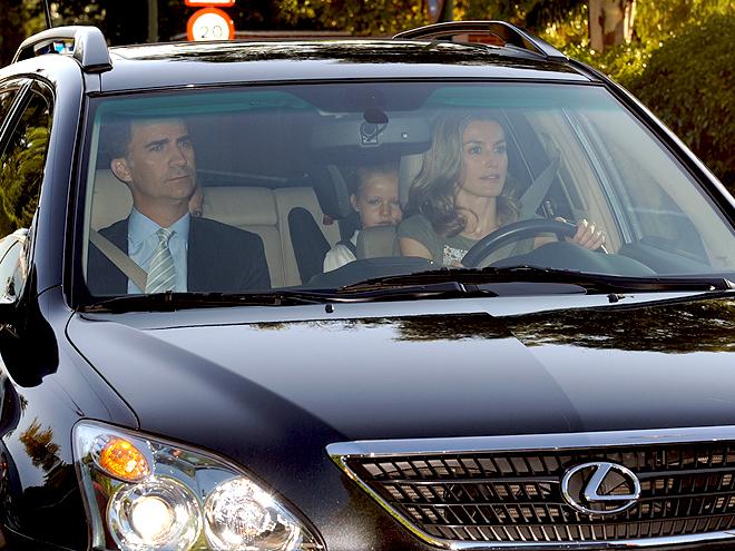 Letizia Ortiz, Príncipe Felipe de Borbón