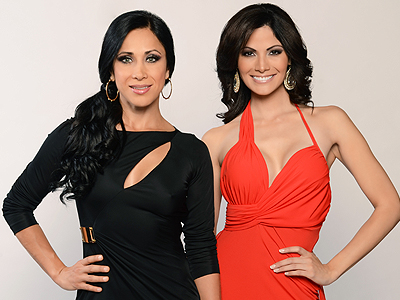 Mónica Noguera y Cynthia Olavarría