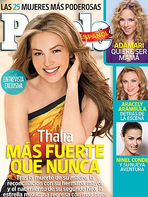 Thalía, portada noviembre costa oeste PEOPLE EN ESPAÑOL, 2011