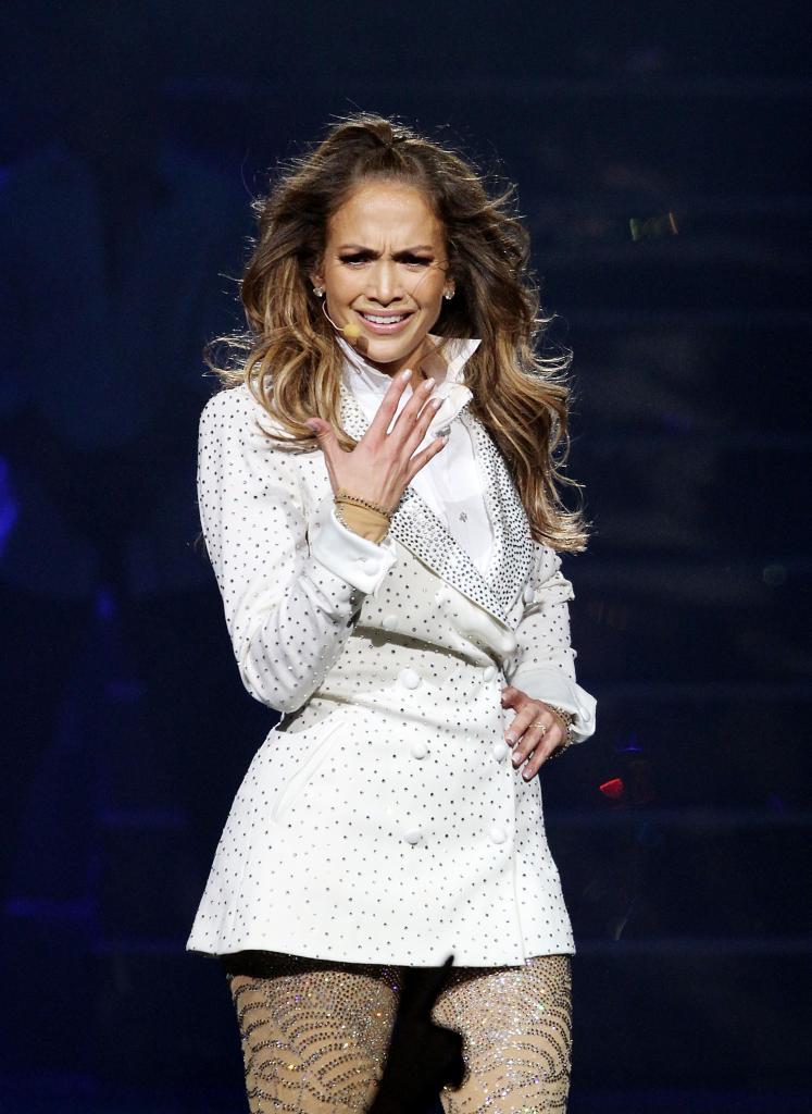 Jennifer López lloró en su concierto en Connecticut