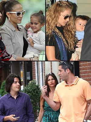 Jennifer López, Paulina Rubio, Sofìa Vergara, Qué bonita familia, Principal
