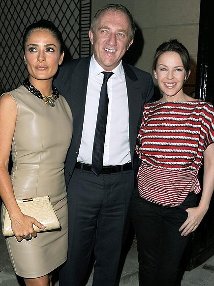 Salma Hayek, François-Henry Pinaul, Kylie Monigue