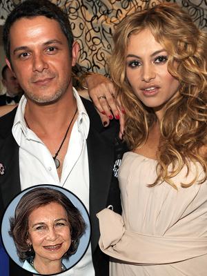 Paulina Rubio y Alejandro Sanz
