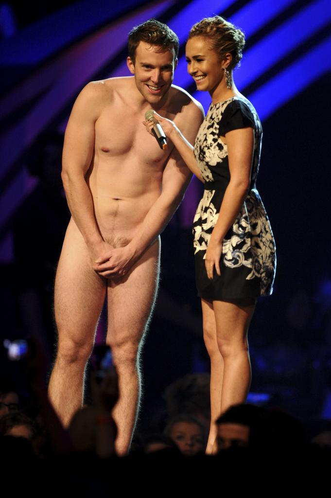 Hayden Panettiere en los MTV Europe Music Awards