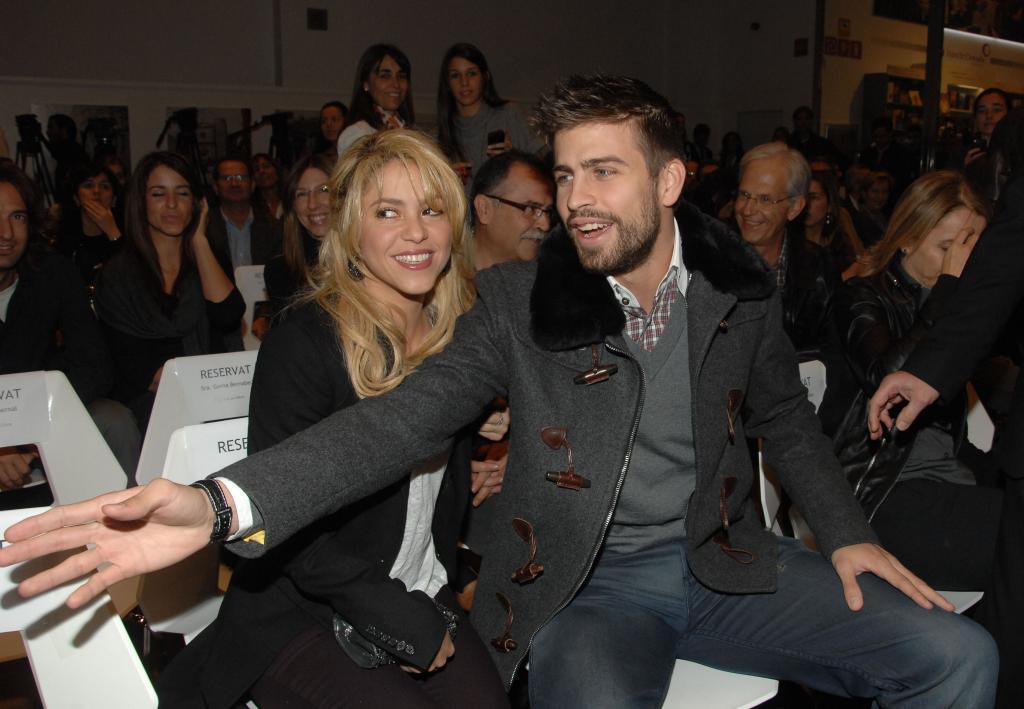 Shakira y Gérard Piqué