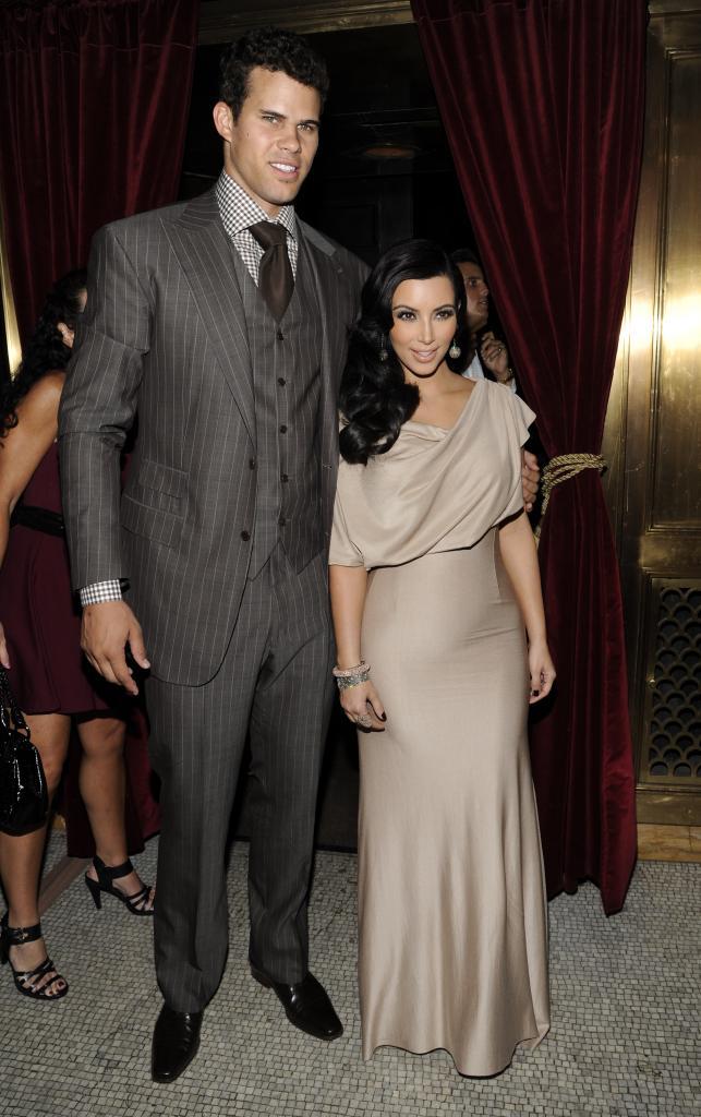 Kris Humphries y Kim Kardashian
