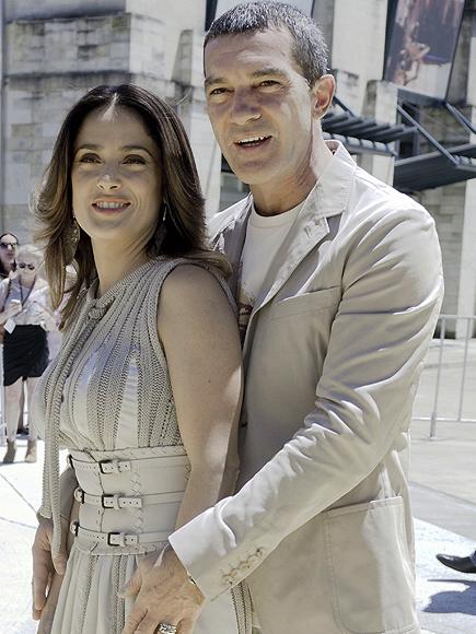 Salma Hayek y Antonio Banderas