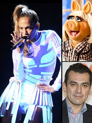 Jennifer López, Miss Piggy, Jorge Salinas, Thanksgiving