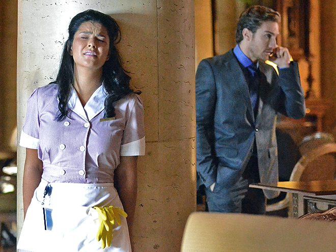 Litzy Domínguez, Eugenio Siller, Una Maid en Manhattan