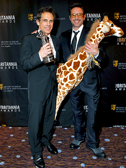 Ben Stiller, Robert Downey Jr.