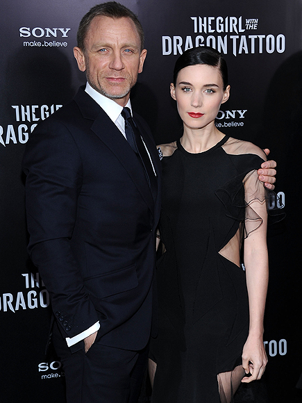 Daniel Craig, Rooney Mara