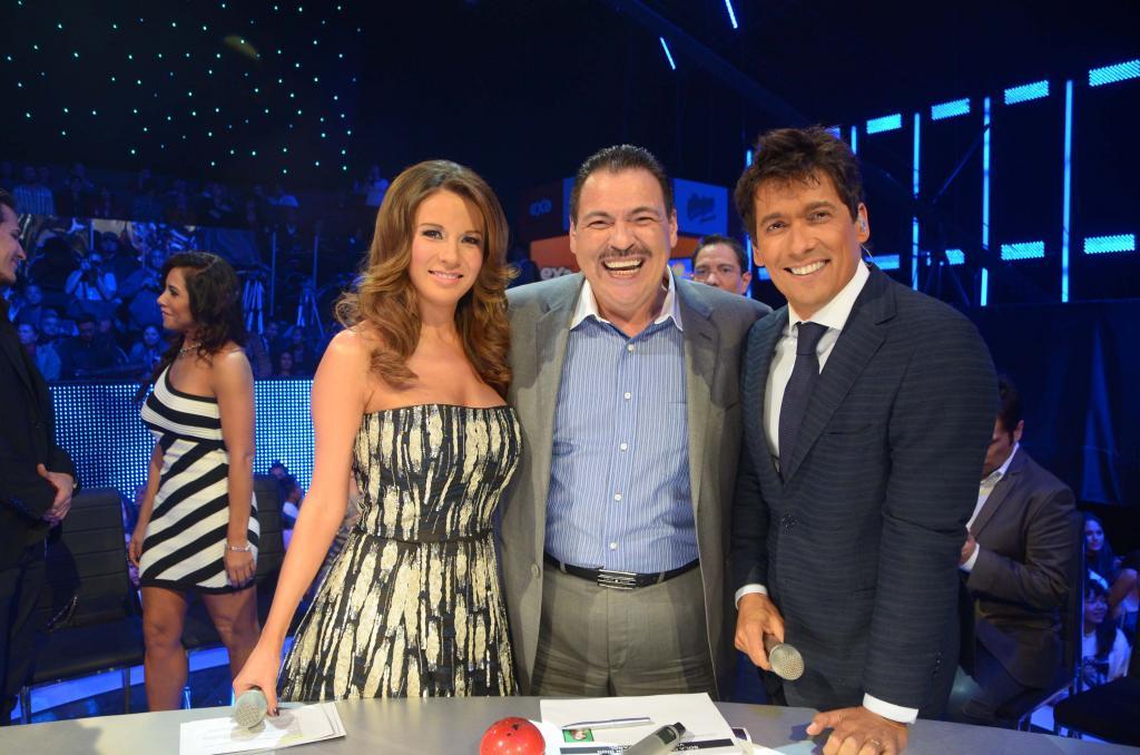 Julio Preciado, Ingrid Coronado y Rafa Araneda