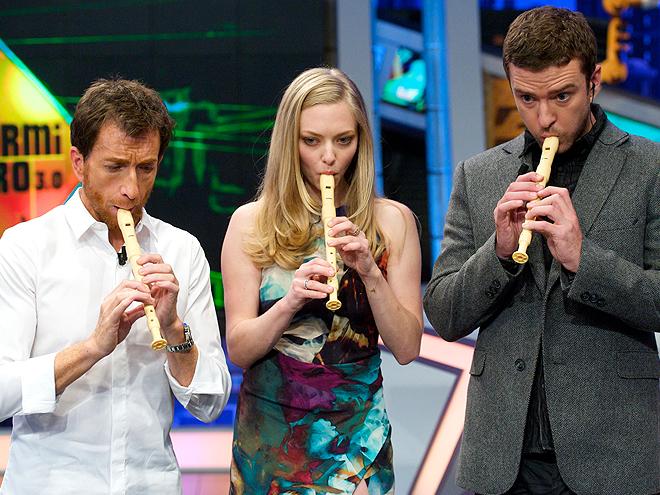 Justin Timberlake, Pablo Matos, Amanda Seyfried