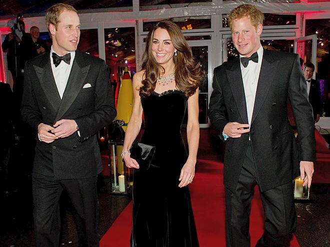 Prince Harry, Prince William, Kate Middleton