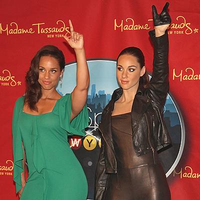 Alicia Keys, Clones de cera 2012