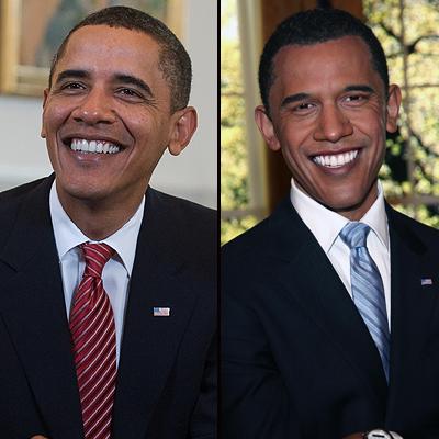Barack Obama, Figuras cera