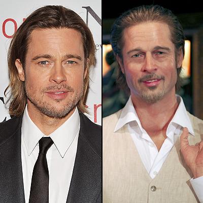 Brad Pitt, Clones de cera 2012