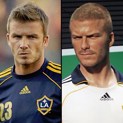 David Beckham,Figuras cera