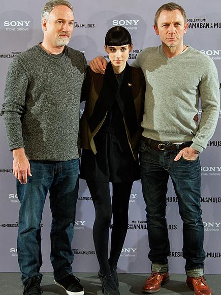 David Fincher, Rooney Mara, Daniel Craig
