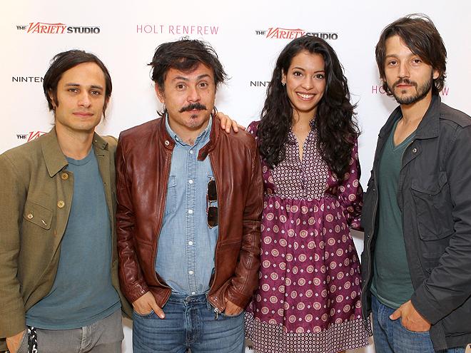 Gael García Bernal, Diego Luna, Gerardo Naranjo, Stephanie Sigman