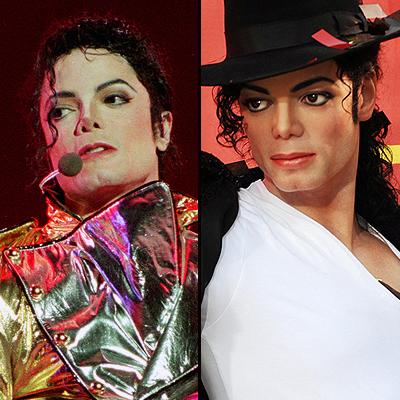 Michael Jackson, Figuras cera