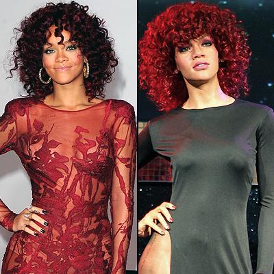 Rihanna, Clones de cera 2012