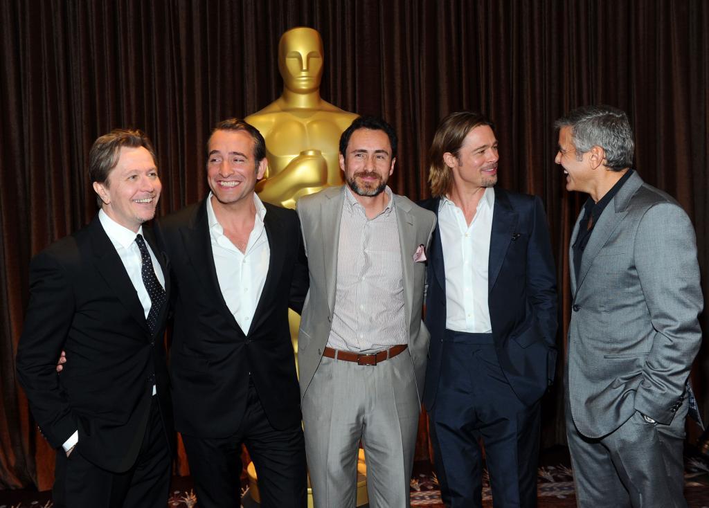 Demián Bichir, Brad Pitt, George Clooney