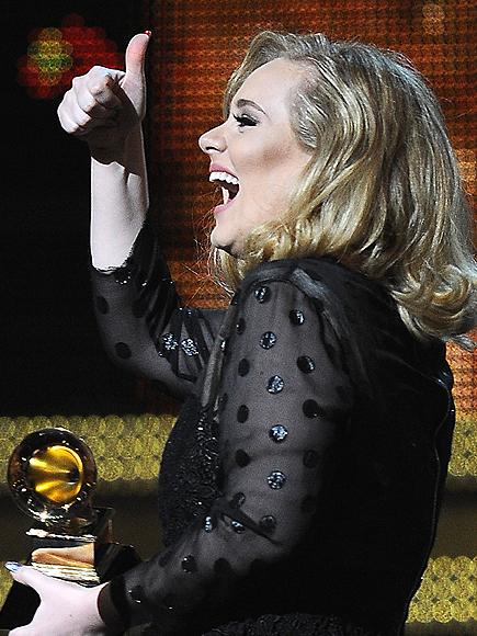 Adele, GRAMMY 2012