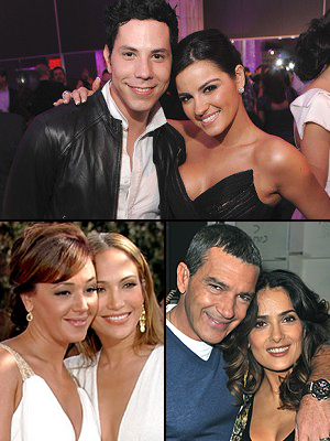 Amigos para siempre, Salma Hayek, Antonio Banderas, Maite Perroni, Christian Chávez, Jennifer López