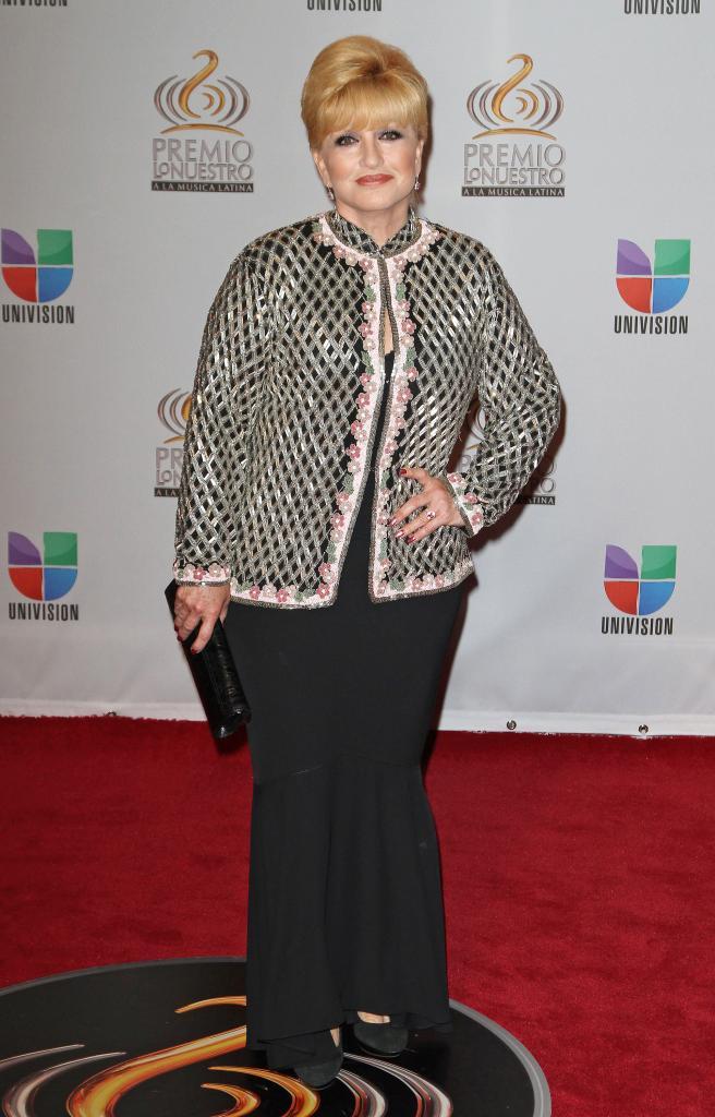 Angélica María, Premio Lo Nuestro 2012