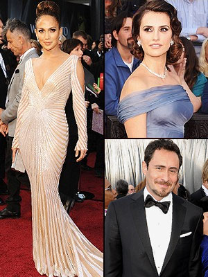 Mejor vestidos Oscar 2012