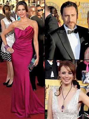 Mejor Vestidos SAG Awards 2012