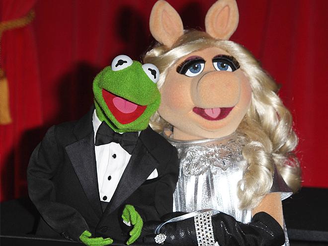 Rana René, Kermit, Rana Gustavo, Miss Piggy