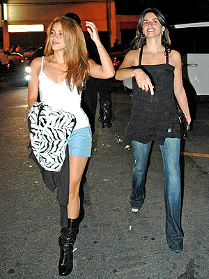 Shakira y Penelope Cruz