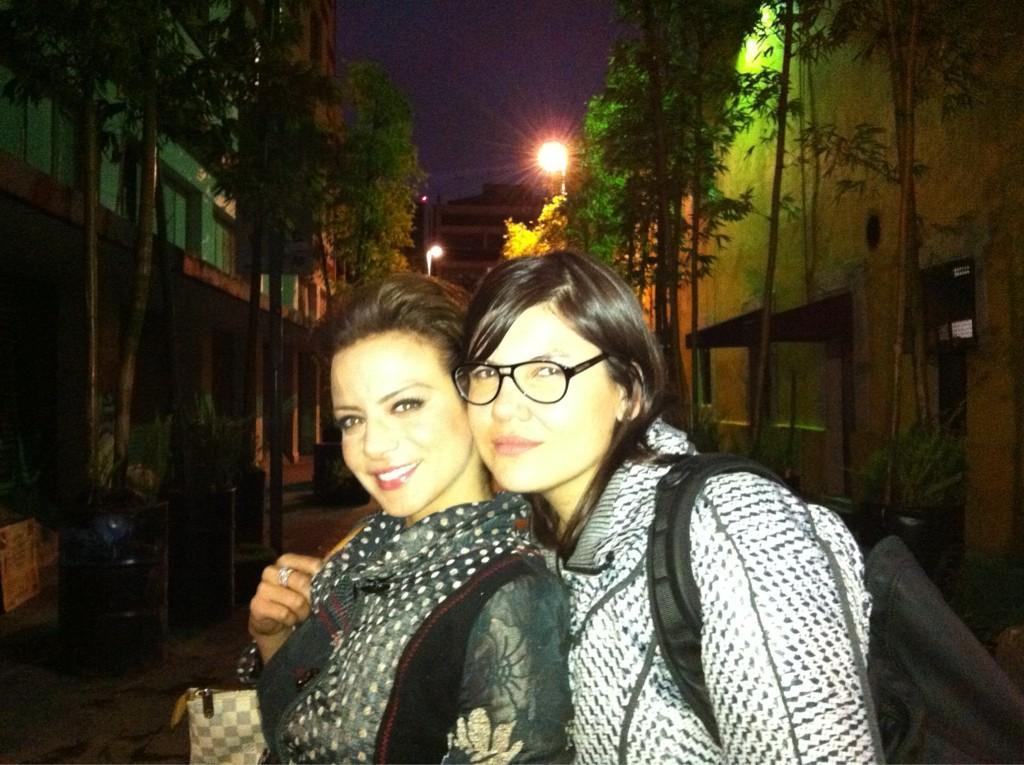 Silvia Navarro, famosos en Twitter