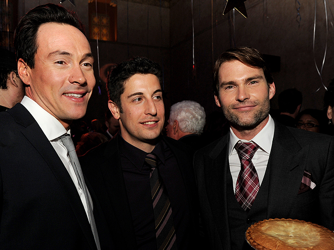 Chris Klein, Jason Biggs, Sean William Scott