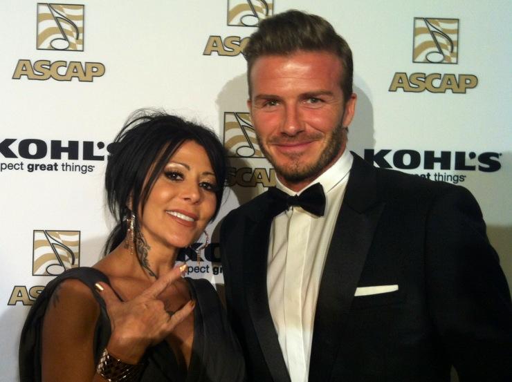 Alejandra Guzmán, David Beckham