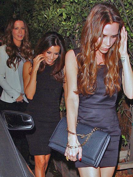 Kate Beckinsale, Eva Longoria, Victoria Beckham