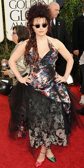 Helena Bonham Carter, Golden Globes 2011