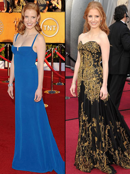 Jessica Chastain, ¿Donde se ve mejor?