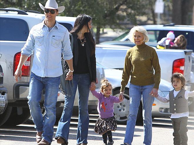 Matthew McConaughey, Camila Alves, Vida, Levi