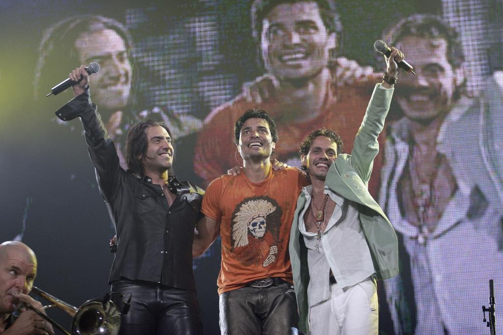 Marc Anthony, Chayanne