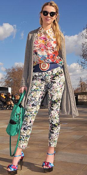 ELOISE MORAN, Floral pants